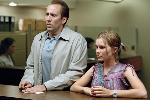 Matchstick Men Nicolas Cage and Alison Lohman