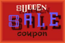 Sudden Sale coupon